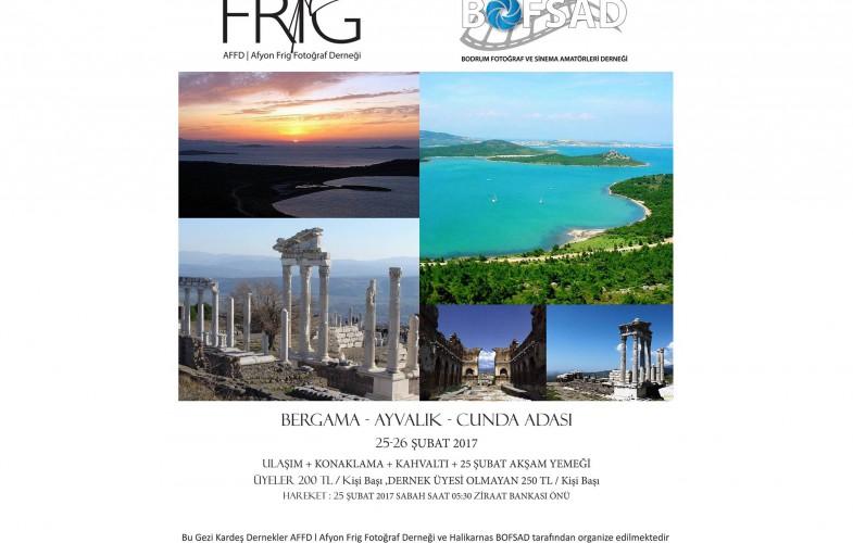 Bergama / Ayvalik / Cunda Adasi Gezisi