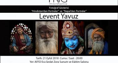Levent Yavuz Fotoğraf Gösterisi ve Söyleşi
