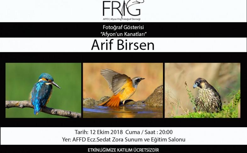 Arif Birsen Fotoğraf Gösterisi