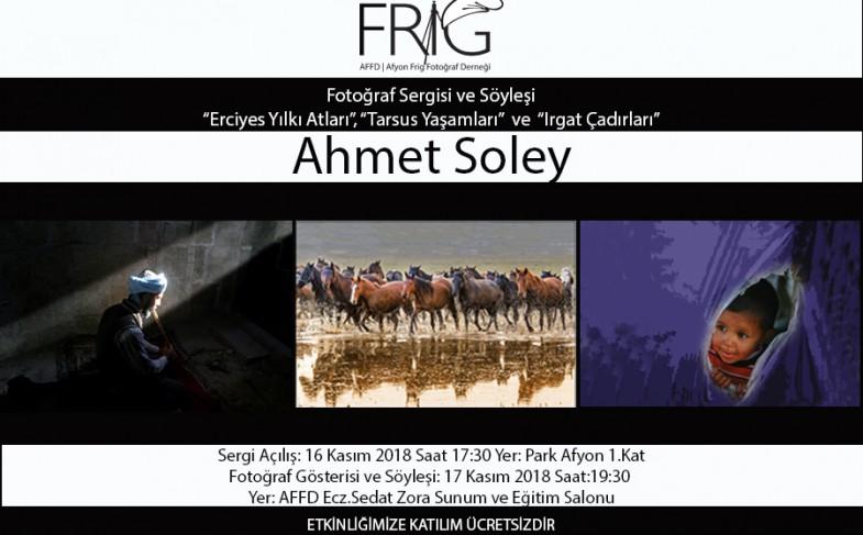 Ahmet Soley Fotoğraf Sergisi ve Söyleşisi